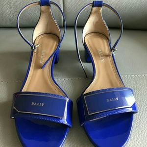 Bally patent Leather Sandals